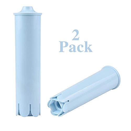 2er Wasserfilter für Jura Filterpatronen Claris Blue passend für Jura Kaffeevollautomaten ENA3/5 IMPRESSA C75/J9/C60/C70/E50/X8/Z9 usw. Serie