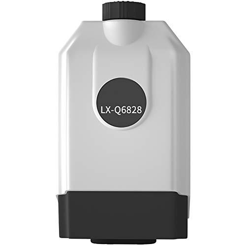 H&RB Einstellbare Doppel Outlet Sauerstoffpumpen, Mini Aquarium Luftpumpe Silent-Kompressor Aquarien Aquatic Fish Tank,4W