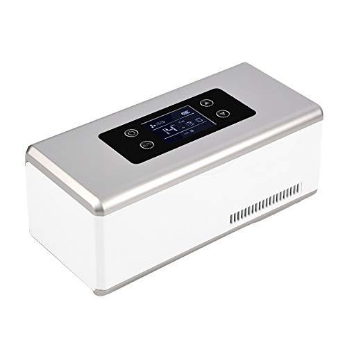Car refrigerator Tragbare Mini-Insulin KüHlbox, 2-8 ° C Medizinischer KüHlschrank, Auto KüHlschrank Medikament KüHler, Geeignet FüR Reisen/Interferon/Lagerung Von Arzneimitteln