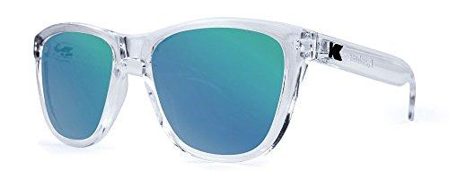 Gafas de sol Knockaround Premium Clear / Green Moonshine