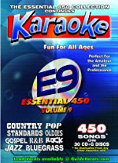 Chartbuster Essential 450 Collection Vol. 9 - 450 MP3G's on SD Card