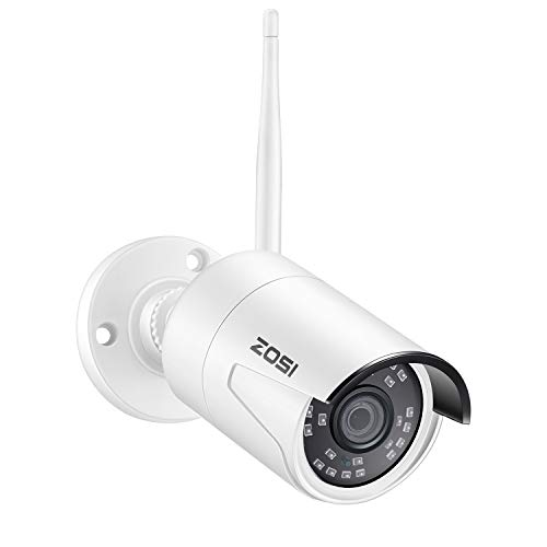 ZOSI ZG2322M 2.0MP 1080P HD Wireless IP Network Camera Weatherproof Outdoor Indoor Security Camera, with Night Vision (Only Compatible with ZOSI...