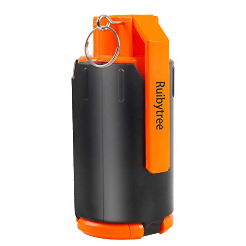 Ruibytree Tactical Plastic Toy Bomb for CS Nerf Rival Battle Game, Strike Games