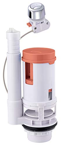SOMATHERM FOR YOU - mecanismo de cable universal para WC doble descarga 3/6 litros ras para lograr el ahorro de agua