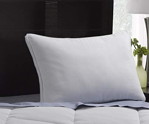 SOFT Exquisite Hotel Pillows Luxury Plush Gel Pillows - Dust Mite Resistant & Hypoallergenic Peachy Soft Microfiber Gusseted shell - Stomach Sleeper Pillows - King Size
