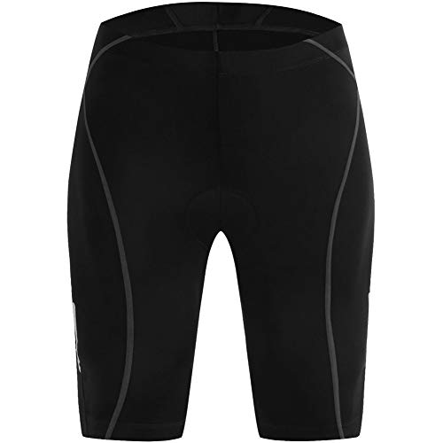 Lesrly-Cycle Men's Cycling Shorts, 3D Padded Bicycle Tights, Mountain Anti-Slip Undershorts, for Outdoor Enthusiasts, Black,XL