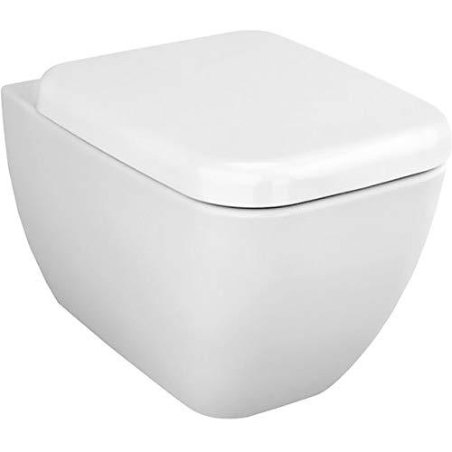 Vitra Shift Vitraflush spülrandlos mit Bidetfunktion, Taharet, Taharat Dusch WC inklusive Softclose WC-Sitz inkl. Schallschutz, inkl. Anschlussgarnitur Komplett