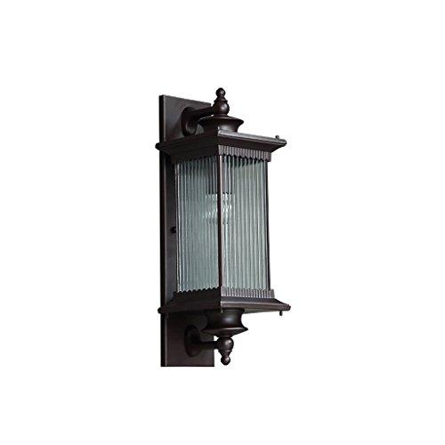 XXT Lámpara de pared for exterior Lámpara de jardín for puerta exterior impermeable