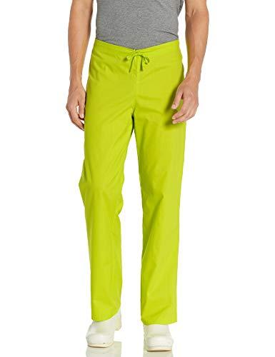 Dickies Unisex-Erwachsene Drawstring Pant Medizinische Scrubs Hosen, Neongrün (Lime Punch), Medium Kurz