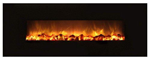 Modern Flames SF40/BILV Slim Fire NO Heat Electric Fireplace - On/Off Only, 40