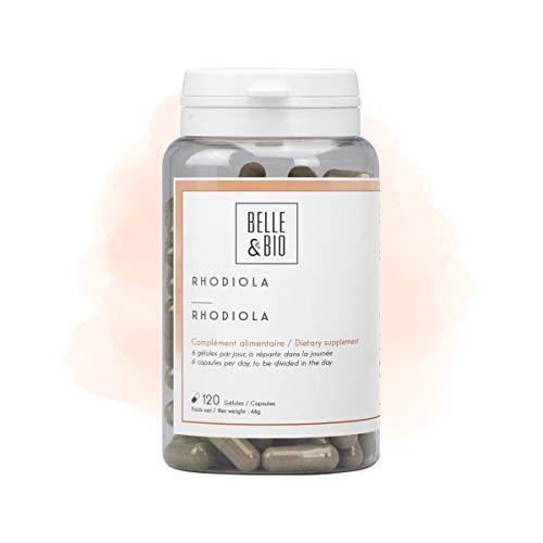 Belle&Bio - Rhodiola - 120 gélules - 150 mg/gélule - Anti-fatigue - Fabriqué en France