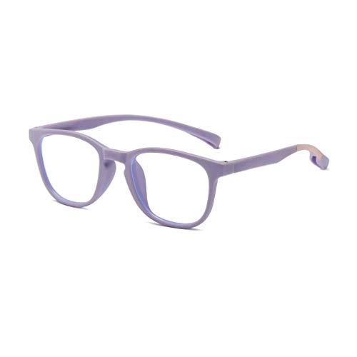 Kunfang Brille Kinderrahmen Anti Blaulicht Blocking Junge Mädchen Klare Linsen UV400 Computer Brille 1672