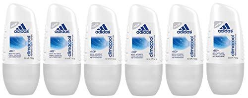 adidas Climacool Deo Roller – Anti-Transpirant Deo Roll-On, 6 x 50 ml