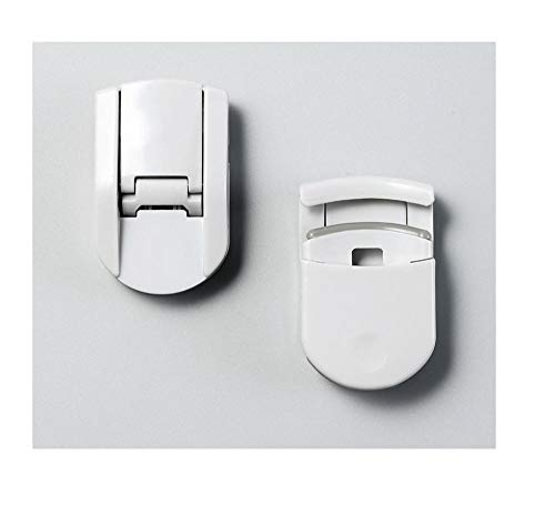 Tragbarer Mini-Wimpernzange, langes Locken, partieller Wimpernzange, Ersatzpolster-Grau