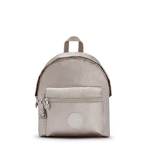 Kipling Reposa Metallic Backpack Metallic Glow