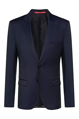 HUGO Alisters Chaqueta de Traje, Azul (Dark Blue 401), 52 (Talla del Fabricante: 50) para Hombre