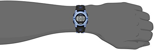 Timex Unisex TW4B02300 Expedition Mid-Size Digital CAT Blue/Black Nylon Strap Watch 3