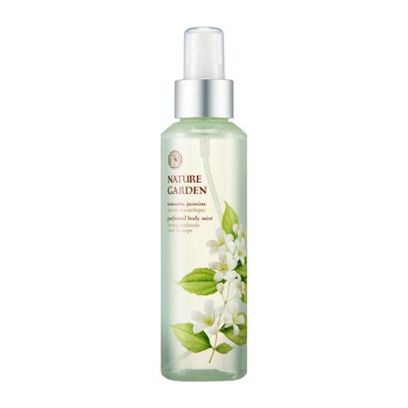 主人効率誤解を招くTHE FACE SHOP NATURE GARDEN (Romantic Jasmine) Perfume Body Mist / ザ?フェイスショップ ネイチャーガーデン パフューム ボディミスト [並行輸入品]