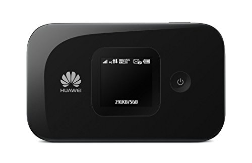 Huawei E5577s-321 150 Mbps 4G LTE Mobile WiFi Hotspot (4G LTE in Europe, Asia, Middle East, Africa & 3G Globally) Unlocked/OEM/Original from Huawei Without Carrier Logo (Black)