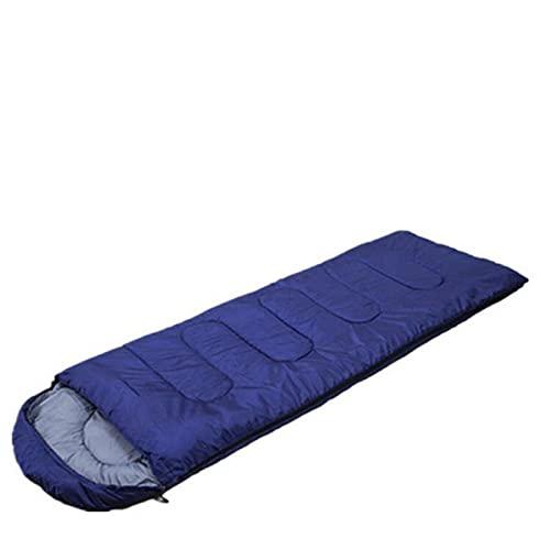 FACWAWF Saco De Dormir De sobre Fino De Primavera Y Verano con Capucha Saco De Dormir De Viaje para Acampar Al Aire Libre para Acampar 210x75cm(950g)