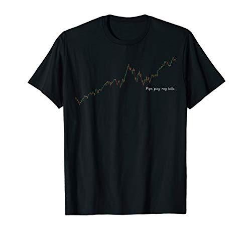 Pips pay my bills, Börse, Daytrading, Capitalism, DAX T-Shirt