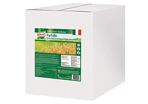 Knorr Pasta Farfalle Nudeln kochstabil - Schmetterlingsnudeln - Nudeln Großpackung, 3000 g