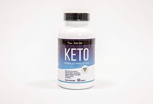 BHB Exogenous Ketones 800mg 60 Capsules Keto Diet Pills BHB Salts Beta Hydroxybutyrate Keto product image