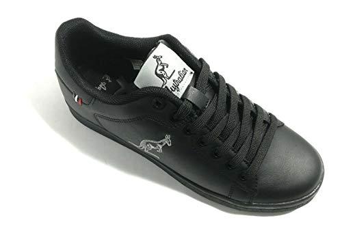 Australian AU436A 02 Black Nero Sneakers Ginnastica Uomo Man (Numeric_45)