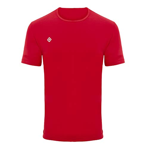 IZAS Min Chemise Homme, Rouge, FR : S (Taille Fabricant : S)