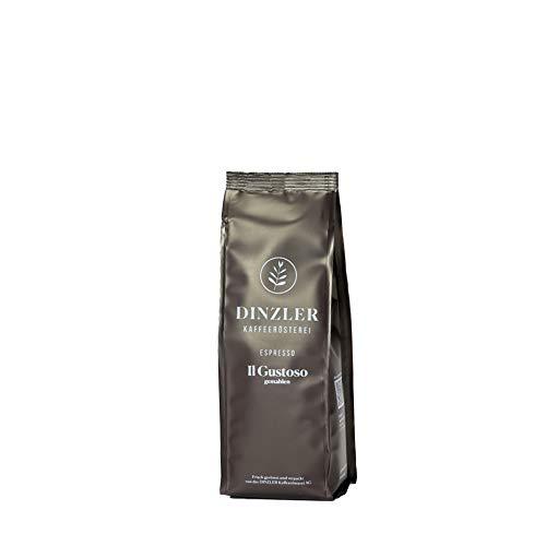 Dinzler Kaffeerösterei Espresso IL GUSTOSO 250g gemahlen für Mokka-Kannen Bialetti