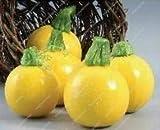 GETSO Semi Pacchetto: 30 pc Organico Zucchini Domestica dei Semi del Giardino colorato di Bellezza Alte andvalues commestibili Verdure Fai da Te Shippin: Red