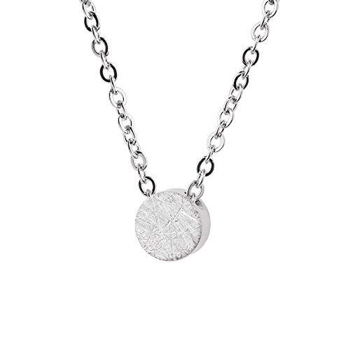 Collar Ernstes Design K787 colgante rascado de acero inoxidable cadena de ancla