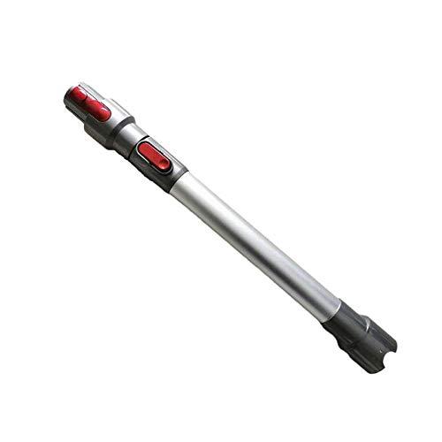 XIANNVV Tubo telescópico Tubo de extensión recto de acero inoxidable, Tubo de extensión telescópico universal cromado compatible con accesorios para aspiradoras Dyson