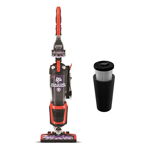 Dirt Devil Razor Pet Steerable Bagless Upright Vacuum with Dirt Devil Endura Filter, Odor Trapping Replacement Filter