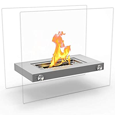 Regal Flame Monrow Fire Pit Ventless Tabletop Portable Bio Ethanol Fireplace