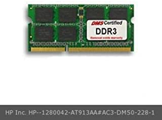 DMS Compatible/Replacement for HP Inc. AT913AA#AC3 Envy dv6-7201eg 4GB DMS Certified Memory 204 Pin DDR3-1333 PC3-10600 512x64 CL9 1.5V SODIMM - DMS
