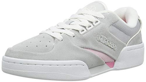 ellesse Tremiti, Zapatillas Mujer, Multicolor (Light Grey/White/Pink Lt Gry/Wht/Pnk), 38 EU