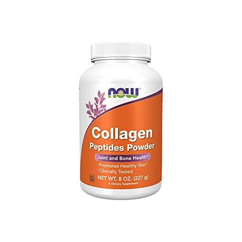 Peptídeos de Colágeno Hidrolisado Collagen Peptides Powder 227g - Now Foods