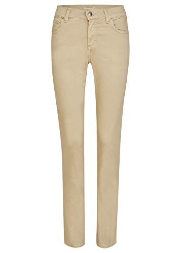 Angels Damen Jeans Cici Regular Fit beige (120) 46/30