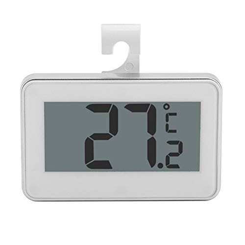 Accrie Kitchen Large LCD Refrigerator Thermometer Fridge Freezer with Adjustable Stand Magnet Digital Thermometer