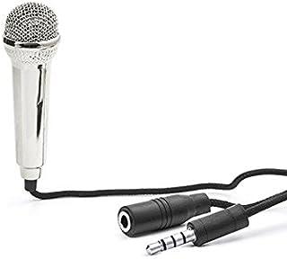 Mini Karaoke Microphone-Silver