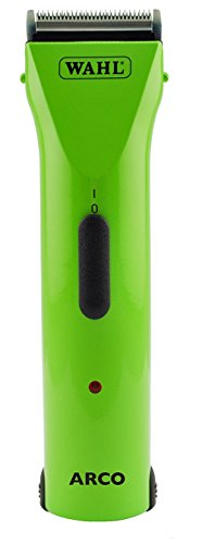 Wahl Professional Animal Arco Pet, Dog, Cat, and Horse Cordless Clipper Kit, Green Apple (#8786-1401)