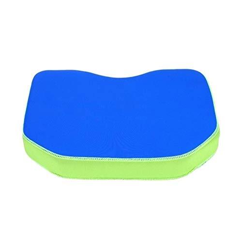 Tonglura Relajante Espesar práctica Kayak Suave del Asiento del cojín del Amortiguador de la Canoa del Barco de Pesca cómodo cojín de Asiento Acolchado Barcos de Remo Alegre (Color : Blue)