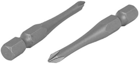 DealMux 7mm Hex Schacht Breedte 4mm Tip PH0 Magnetische Phillips Schroevendraaier Bits Tool 10 stks