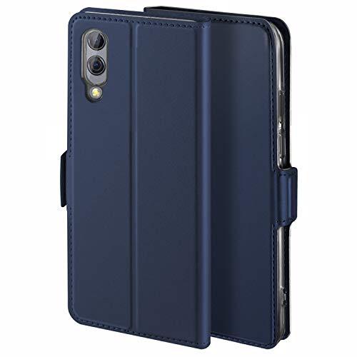 HoneyCase für Handyhülle Xiaomi Black Shark 2 Hülle Premium Leder Flip Schutzhülle für Xiaomi Black Shark 2 Tasche, Blau