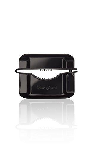 Microplane Restehalter für alle Reiben- und Hobel-Modelle in Schwarz Kunststoff