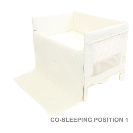 Arsmreach Universal Co Sleeper (Can Co Sleep Twins Also, Natural)