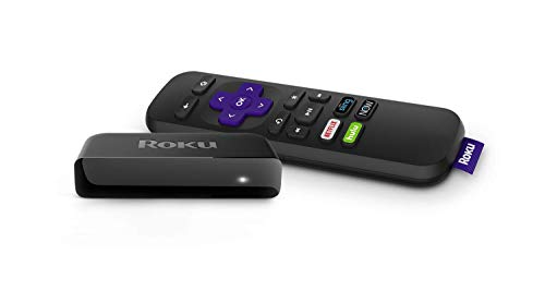 Roku Premiere | HD/4K/HDR Streaming Media Player with Simple Remote and Premium HDMI Cable (Renewed), Black. Buy it now for 29.99