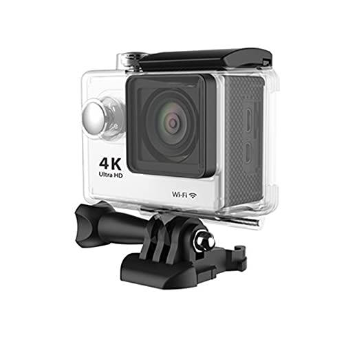 Action Camera Ultra HD 4K 30fps Wi-Fi 2.0 pollici 170 gradi Telecamere di registrazione video subacquee impermeabili bianche
