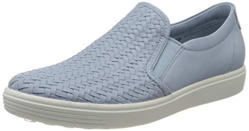 ECCO Damen Soft 7 W Sneaker, Dusty Blue 1434, 41 EU